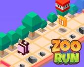 Бег по зоопарку