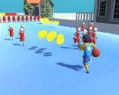Бегущий баскетболист