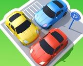 Пробка на парковке: 3D головоломка