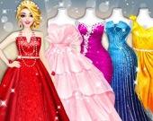 Модный стилист: наряд для модели