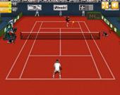 Настоящая теннисная игра
