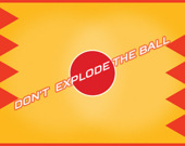Не взорвите шар