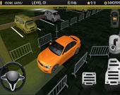 Ночной симулятор парковки авто