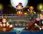 Хэллоуин - спрятанные объекты