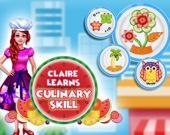 Клер изучает кулинарию