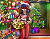 Рождественские покупки Леди Баг