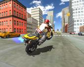 Гоночные трюки на мотоциклах: симулятор