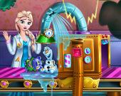 Фабрика игрушек Ледяной королевы