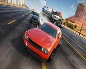 Сумасшедшие гонки по шоссе