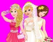 Свадебное селфи Барби с Принцессами