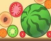 Соедини фрукты
