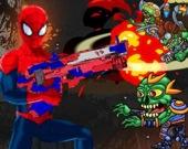 Человек-паук: стрельба коммандера