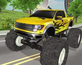 За рулем монстра-грузовика