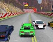 Дрифт гонка суперкаров