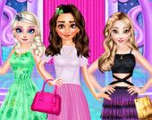 Принцессы: Платья различных фасонов