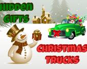 Рождественские Грузовики Скрытые Подарки