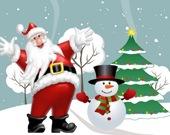 Рождественские подарки Санты - Пазл