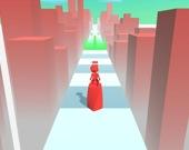 Цветная башня - 3D бег
