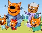 Учись с кошачей семьей