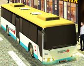 Симулятор водителя автобуса по шоссе