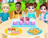 Малышка Тейлор: чайная вечеринка