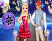 Принцесса: Конкурс фонариков