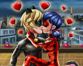 День святого Валентина в Париже с Леди Баг