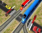 Пересечения железной дороги: Железнодорожные поезда 3D