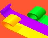 Цветной свиток 3D
