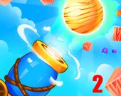 Выстрел шарами 2