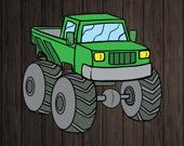 Монстр-грузовик: игра-головоломка