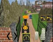 Настоящая строительная игра-экскаватор