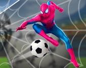 Футбол с Человеком-пауком