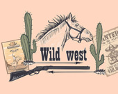 Запоминалка: Дикий запад