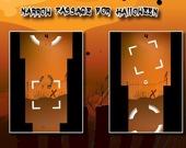 Узкий проход на Хэллоуин