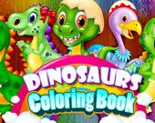 Раскраска: Динозавры