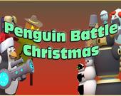 Рождественская битва пингвина