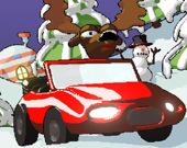 Побег рождественского оленя