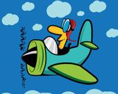 Пазл Смешные самолеты