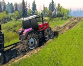 Цепной трактор-буксир: Симулятор