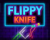 Летающий неоновый нож