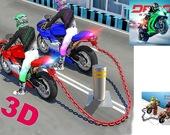 Мотогонки на цепях 3D
