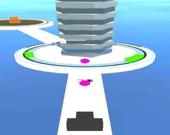Стреляй 3D мячом в башню