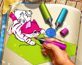 Раскраска: животные