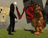 Слендермен против Фредди Фазбера