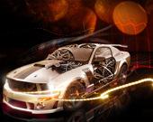 Крутые машины: Пазл