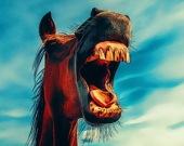 Забавные улыбки животных - Пазл
