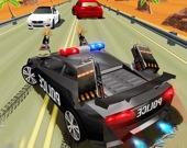 Полицейская погоня за преступниками