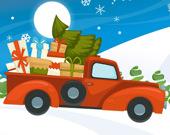Рождественские машины: Найди отличия