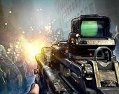Форт зомби 3: снайпер с автоматом